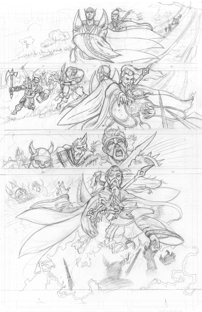 Issue 1, Page 4 Pencils