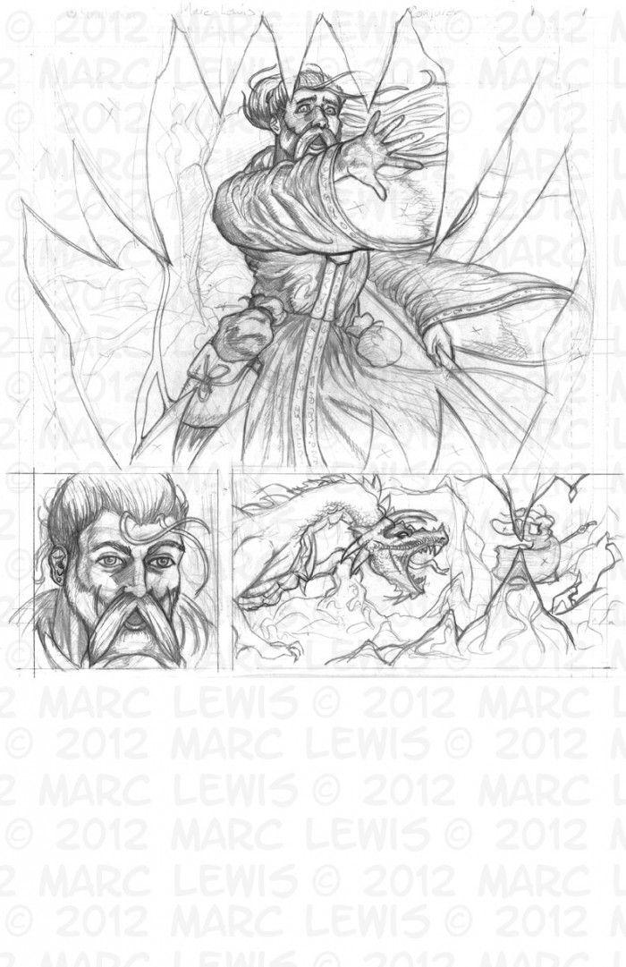 Issue 1, Page 1, Pencils